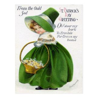 Le jour victorien de St Patrick Carte Postale