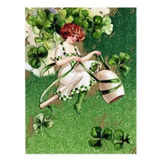 Le jour victorien de St Patrick Cartes Postales