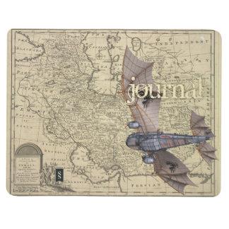 Le journal de l'aviateur de Steampunk (volant à