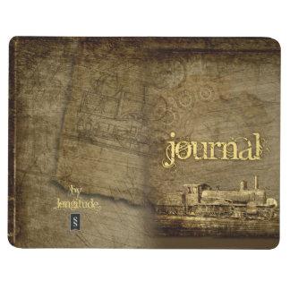 Le journal du voyageur de Steampunk