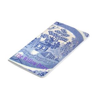 Le journal pour des amants de saule bleu Chine