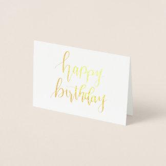 Le joyeux anniversaire, remettent la carte