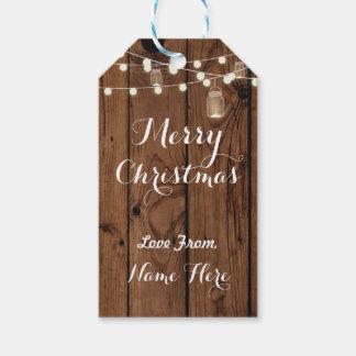 Le Joyeux Noël étiquette de joyeuses lumières en