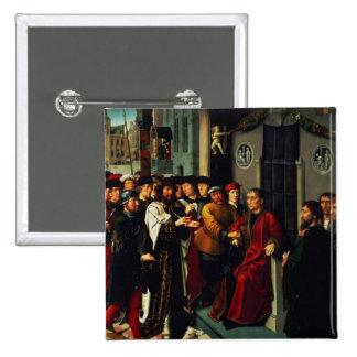 Le jugement de Cambyses, 1498 Pin's