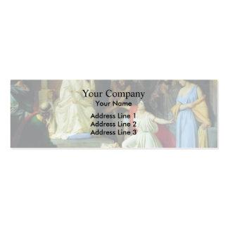 Le jugement du Roi Solomon par GE de Nikolai Carte De Visite