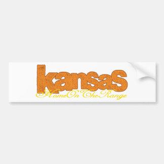 Le Kansas - à la maison sur la gamme Autocollant Pour Voiture