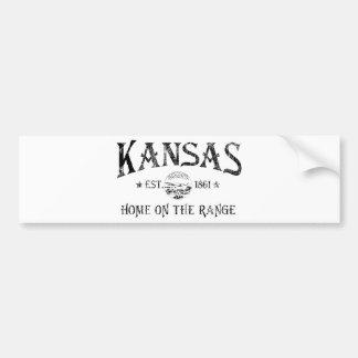 Le Kansas Autocollant Pour Voiture
