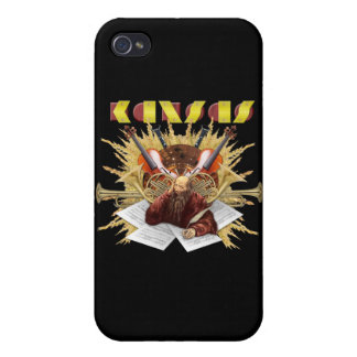 Le KANSAS - logo de symphonie iPhone 4 Case