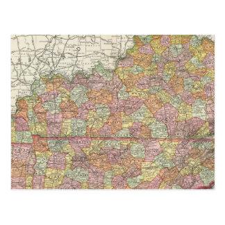 Le Kentucky et le Tennessee 3 Carte Postale