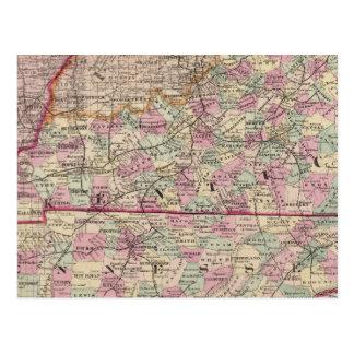 Le Kentucky et le Tennessee 4 Carte Postale