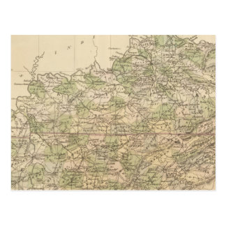 Le Kentucky et le Tennessee 8 Carte Postale