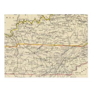 Le Kentucky et le Tennessee Carte Postale