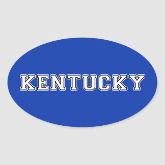 Le Kentucky Sticker Ovale