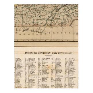 Le Kentucky, Tennessee 2 Carte Postale