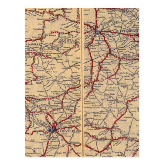 Le Kentucky, Tennessee 3 Carte Postale