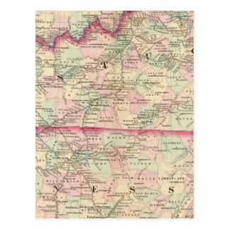 Le Kentucky, Tennessee Carte Postale