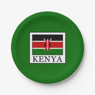 Le Kenya Assiettes En Papier
