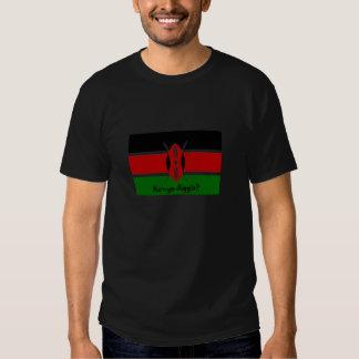 Le Kenya Diggit ? T-shirt kenyan de drapeau