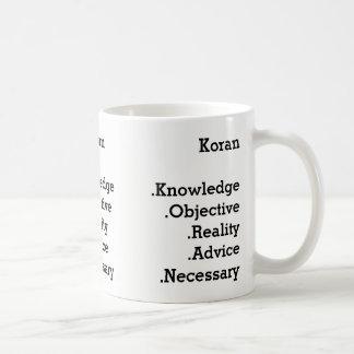 Le Koran mug