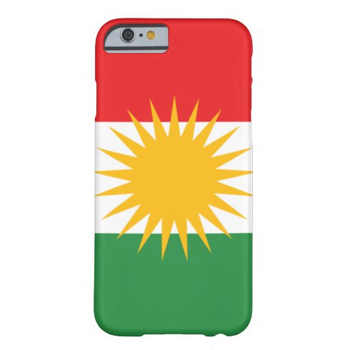 le Kurdistan Coque iPhone 6 Barely There