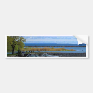Le lac Huron Collingwood Ontario Autocollant De Voiture