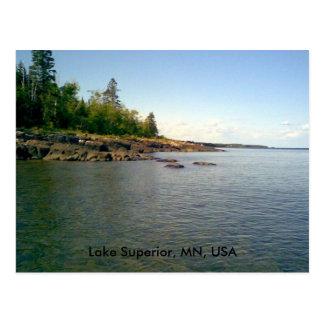 Le lac Supérieur, manganèse, carte postale des