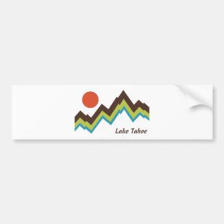 Le lac Tahoe Autocollant Pour Voiture