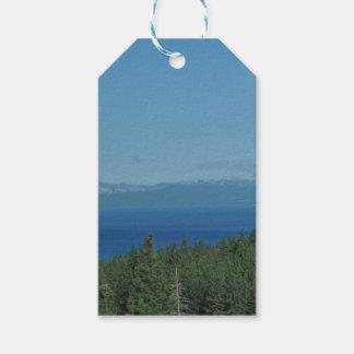 Le lac Tahoe Étiquettes-cadeau