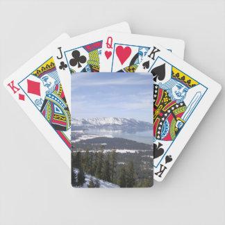 Le lac Tahoe Jeu De Cartes
