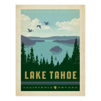 Le lac Tahoe | la Californie et Nevada Carte Postale
