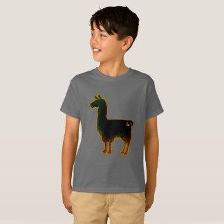 Le lama rouillé badine le T-shirt