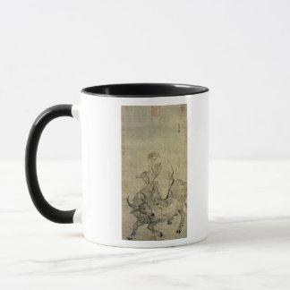 Le Laotien-tzu montant son boeuf, Chinois, Mug