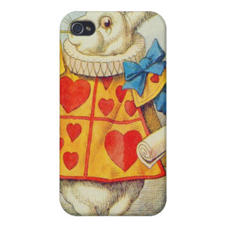 Le lapin blanc coques iPhone 4/4S