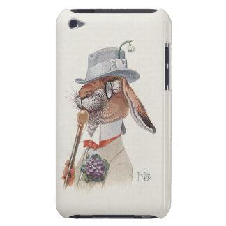Le lapin de monsieur - art vintage mignon de Thiel Coques Barely There iPod