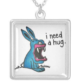 Le lapin de tueur a besoin d'un collier d'étreinte