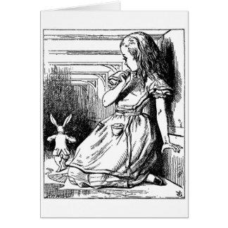 Le lapin reviennent cartes
