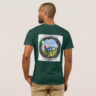Le lapin saute à cloche-pied T américain T-shirt