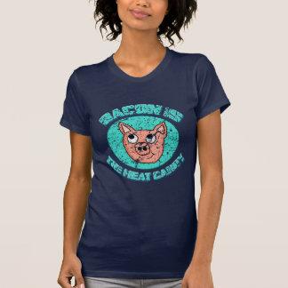 Le lard vintage est la chemise de sucrerie de t-shirt