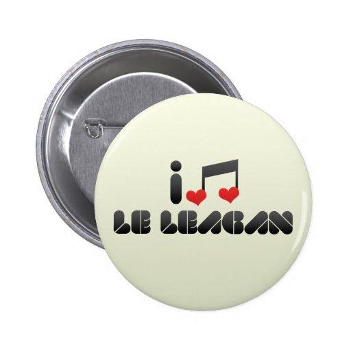 Le Leagan Badges Avec Agrafe