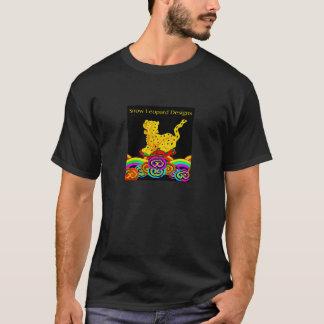 Le léopard de neige conçoit le T-shirt