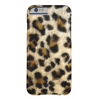 Le léopard noir chic repère la caisse de l'iPhone Coque iPhone 6 Barely There