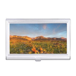 Le lever de soleil allume le canyon 2 de Blackleaf Boîtiers Pour Cartes De Visite