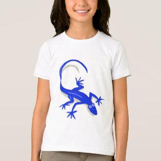 le lézard de bleu royal badine la chemise t-shirt