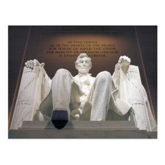 Le Lincoln Memorial Carte Postale