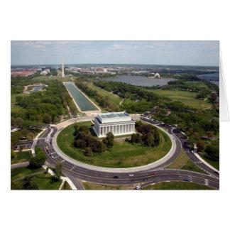 Le Lincoln Memorial Cartes