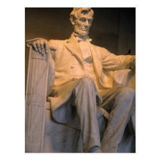 Le Lincoln Memorial dans DC de Washington Carte Postale