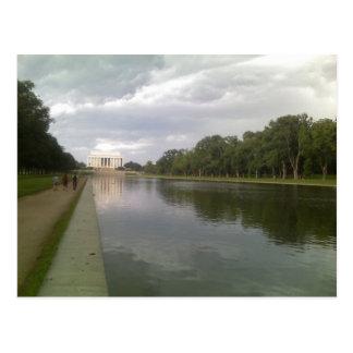 Le Lincoln Memorial et piscine se reflétante Carte Postale