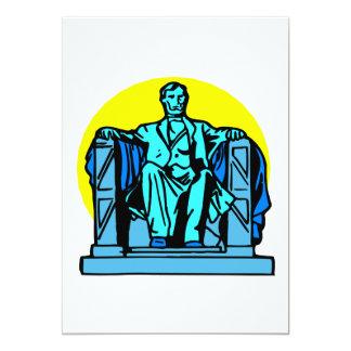 Le Lincoln Memorial Cartons D'invitation
