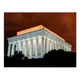 Le Lincoln Memorial la nuit - Washington DC Carte Postale