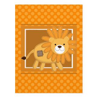 le lion carte postale